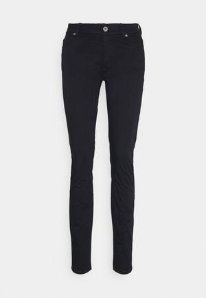 5 POCKET MID WAIST SLIM LEG - Trousers - dark blue