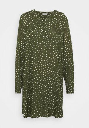 KAMARANA DRESS - Day dress - grape leaf/chalk