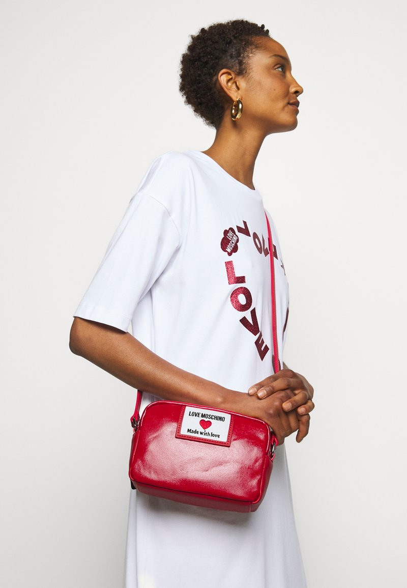 Love Moschino - Across body bag - red