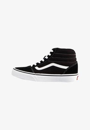 YT WARD HI - Sneakers hoog - (suede/canvas)black/white
