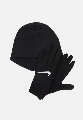 MEN'S RUN DRY HAT AND GLOVE SET