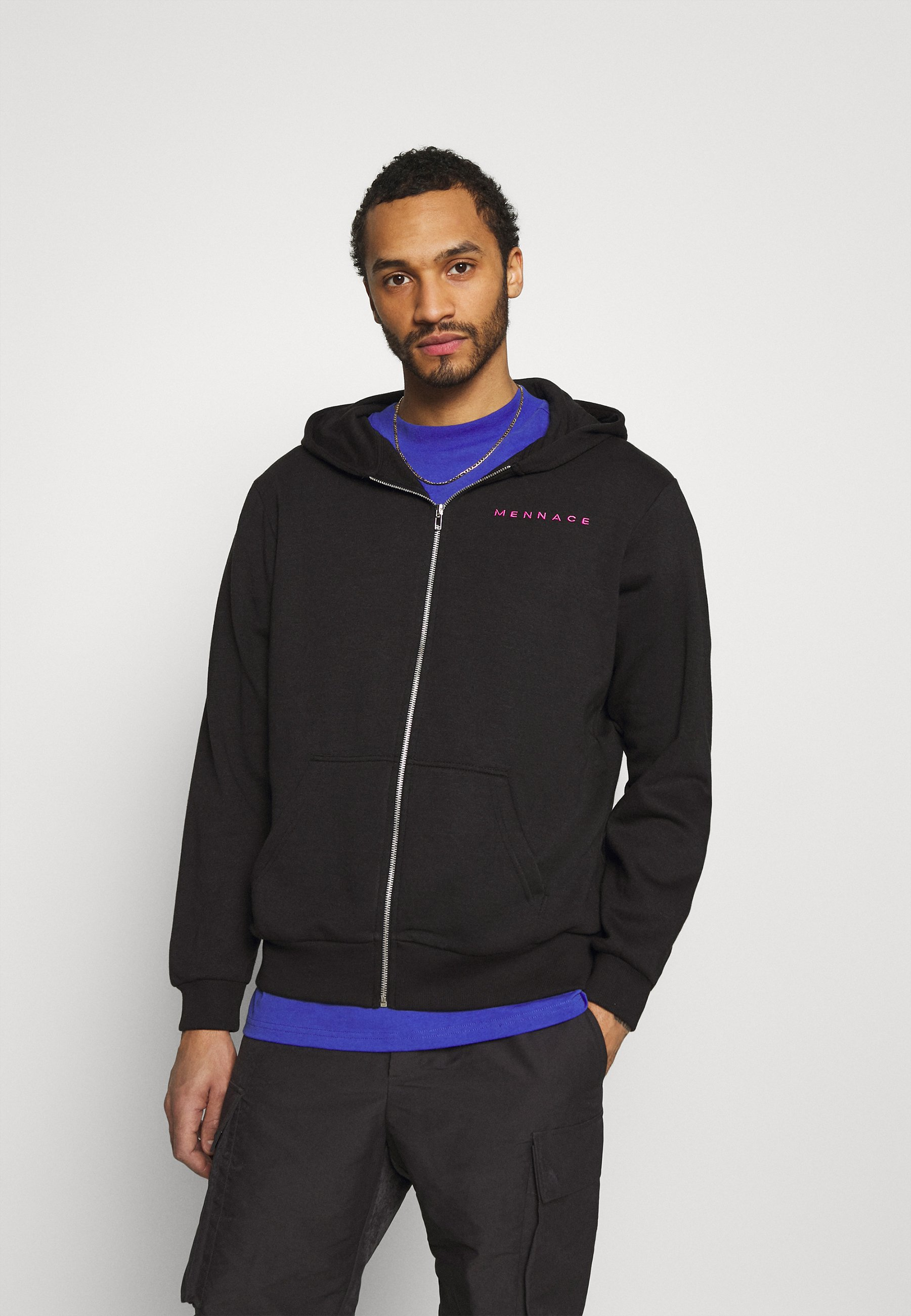 Women UNISEX ESSENTIAL ZIP TRHOUGH HOODIE - Zip-up sweatshirt