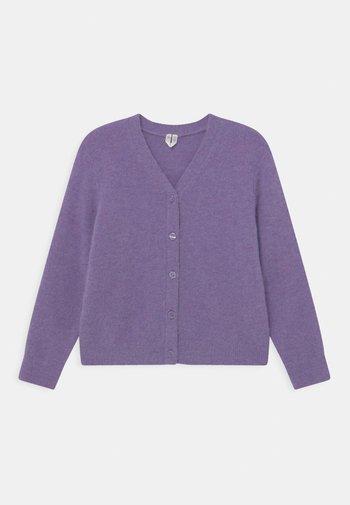 Cardigan - purple