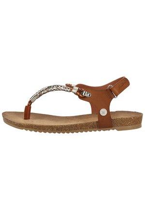 SANDALEN - Sandaler m/ tåsplit - braun 3