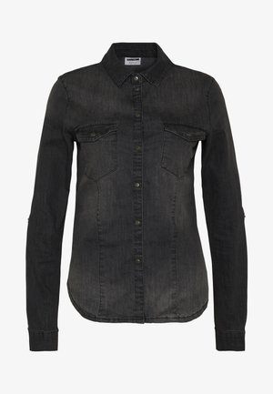 NMDILEM SLIM - Chemisier - black denim