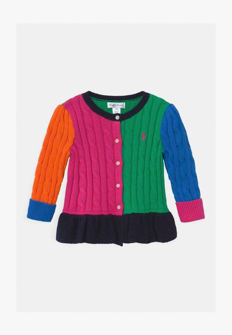 Polo Ralph Lauren - PEPLUM  - Cardigan - multi-coloured