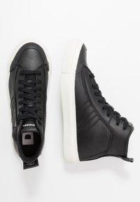 Diesel - S-ASTICO MID LACE - Sneakers alte - black - 1