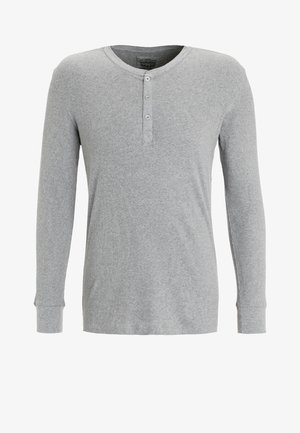 LEVIS 300LS LONG SLEEVE HENLEY - Camiseta de pijama - middle grey melange