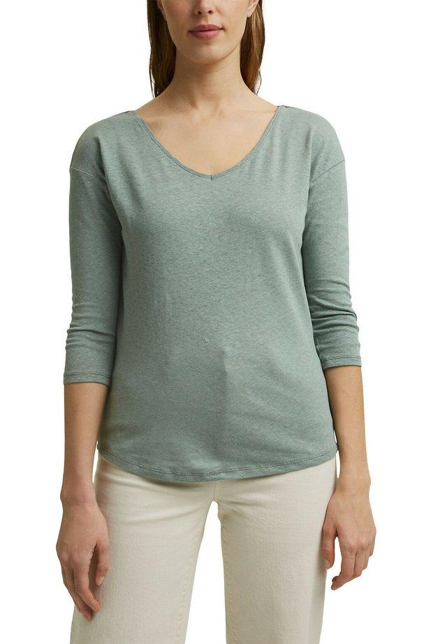 T-shirt à manches longues - turquoise