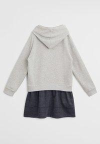 Mango - CONTRASTING PRINT - Day dress - medium heather grey - 1