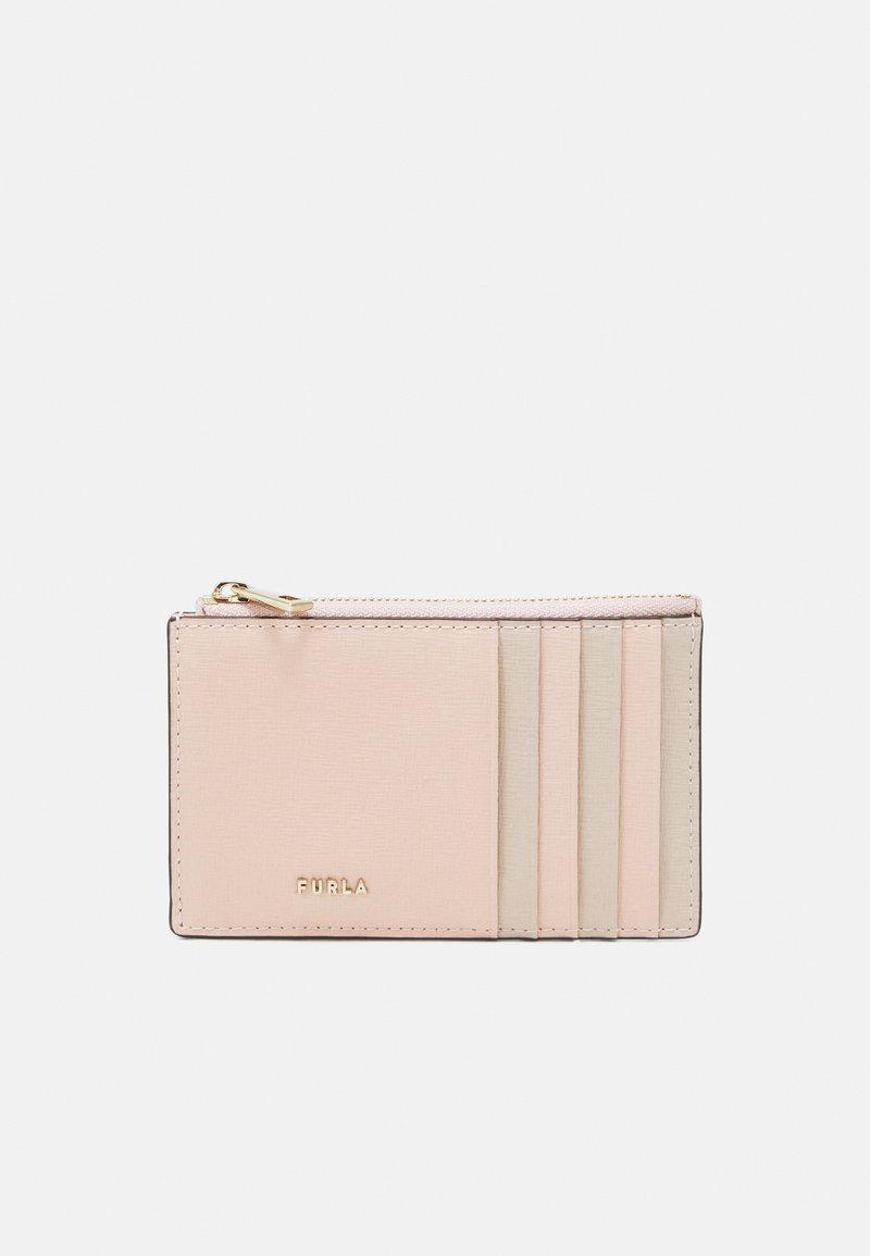 Furla - BABYLON M CARD CASE - Peněženka - candy rose+ballerina