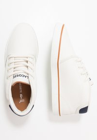 Lacoste - AMPTHILL - High-top trainers - offwhite/navy - 0