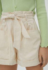 PULL&BEAR - Shorts - beige - 6