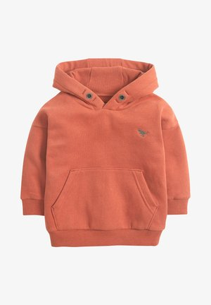 SOFT TOUCH - Sweat à capuche - orange