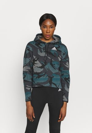 ZNE A.RDY - Sweatshirt - dark grey/teal