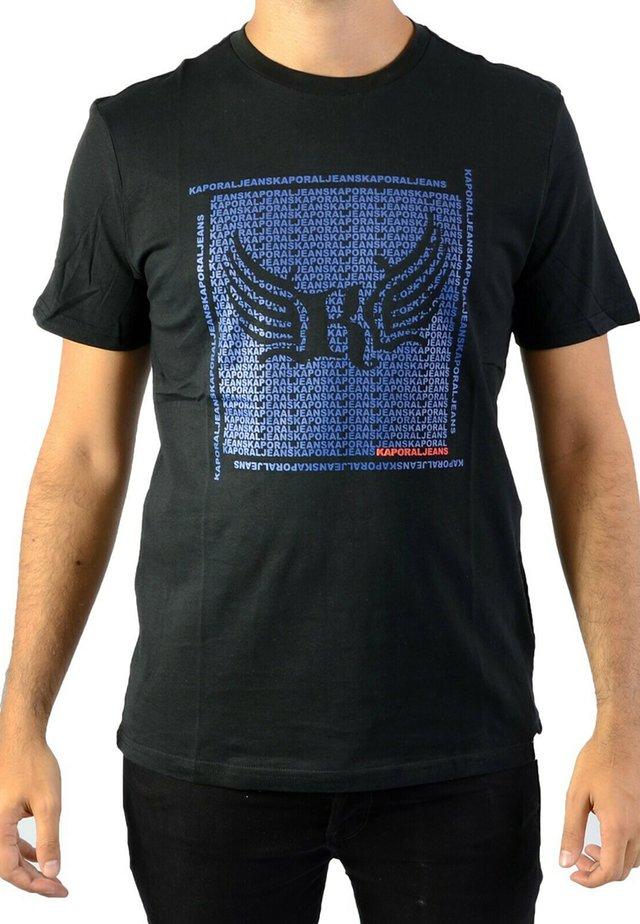 PASTO - T-shirt imprimé - noir