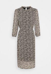Vero Moda - VMSAFFRON DRESS - Denní šaty - black/white - 4