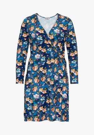 BY JOE BROWNS - Jersey dress - blau bedruckt