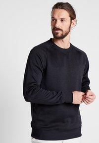 Nike Golf - DRY CREW SWEATER - Club wear - black - 0