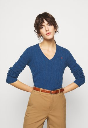 Jumper - aged royal heather