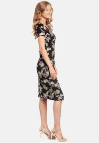 Vive Maria - Shift dress - schwarz allover - 2