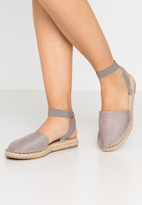 Dorothy Perkins Wide Fit - Loafers - grey - 0