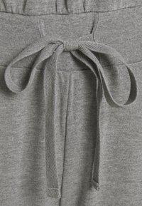 Even&Odd - Sweat off shoulder lounge jumpsuit - Jumpsuit - mottled light grey - 2