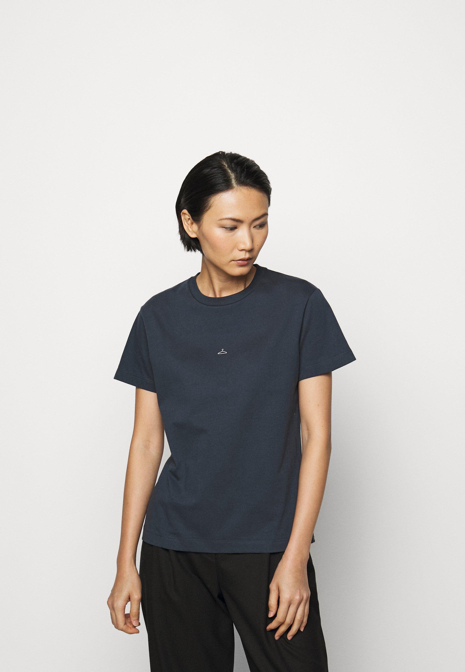Holzweiler Suzana - T-shirts Med Print Dark Blue/mørkeblå