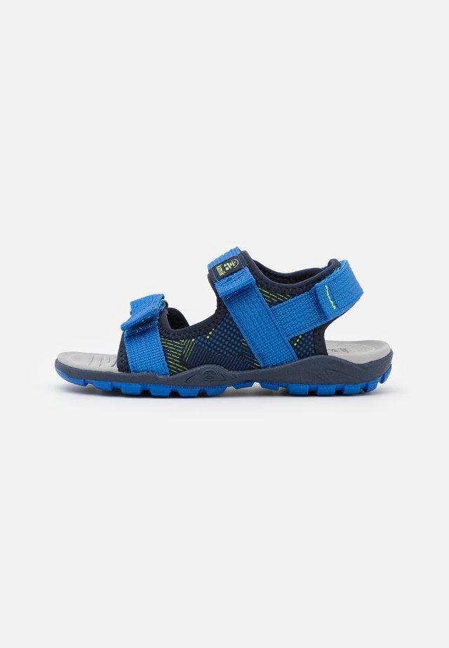 JUMP UNISEX - Sandały trekkingowe - navy blue/marine bleu