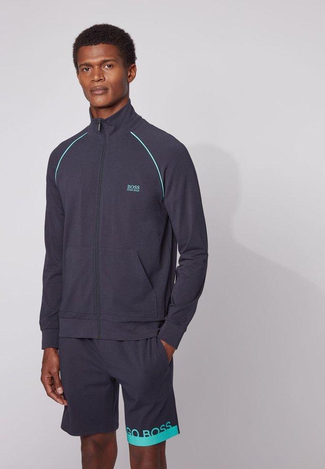 Training jacket - open blue