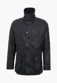 Barbour - ASHBY WAX JACKET - Summer jacket - navy - 4