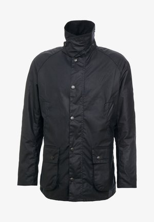 ASHBY WAX JACKET - Lehká bunda - navy