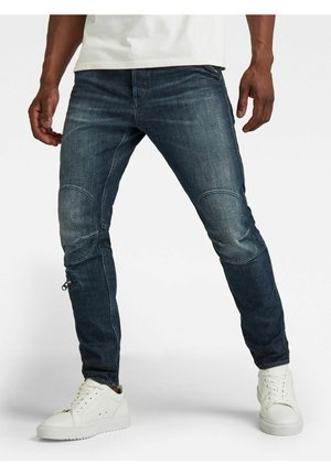 PILOT 3D SLIM - Slim fit jeans - worn in hale navy