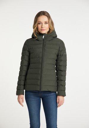 Winter jacket - dunkeloliv