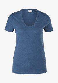 s.Oliver - Basic T-shirt - faded blue - 5