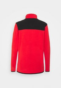 The North Face - GLACIER SNAP NECK - Fleece jumper - horizon red/black - 7