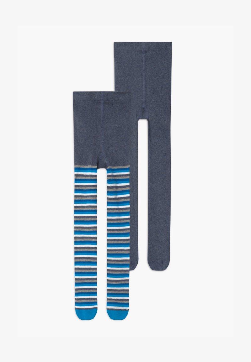 camano - UNISEX 2 PACK  - Tights - light blue
