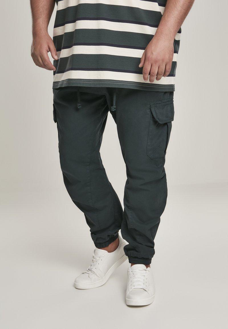 Urban Classics - Pantaloni cargo - bottlegreen