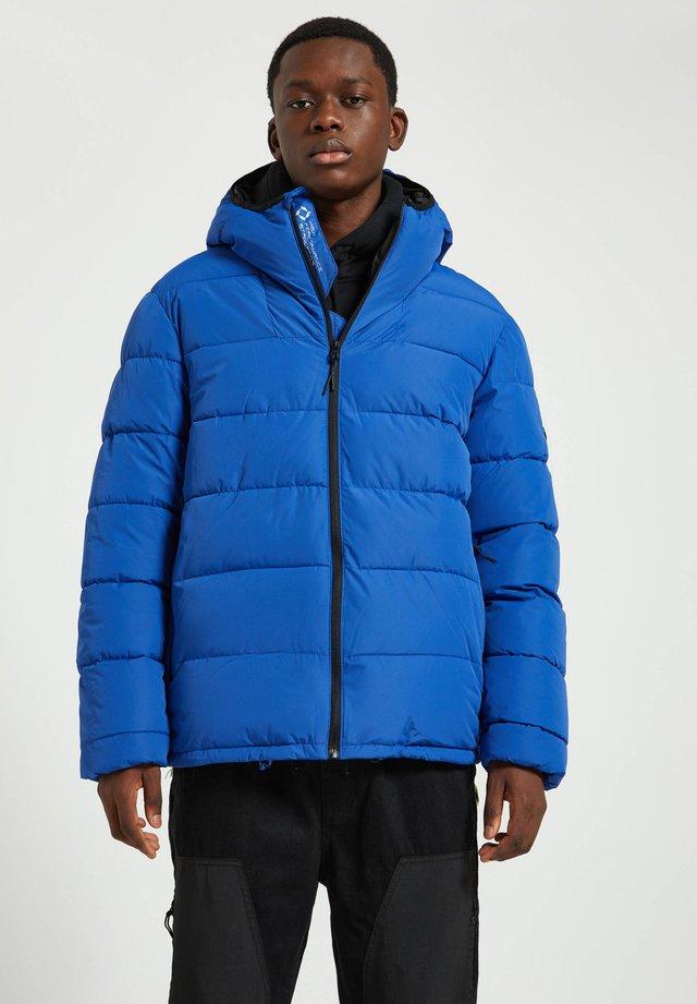 Talvitakki - royal blue