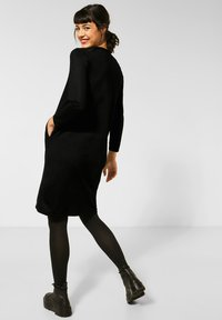 Street One - Jumper dress - schwarz - 1