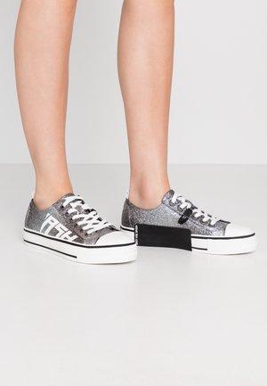 VANDA - Baskets basses - degrade glitter/black/silver