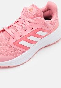 adidas Performance - GALAXY 5 - Nøytrale løpesko - super pop/footwear white/solar red - 5