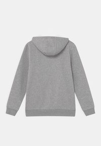 adidas Originals - HOODIE - Hoodie - medium grey heather/white - 1