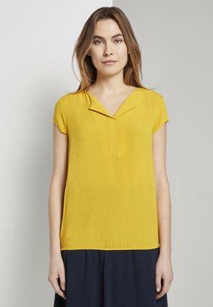 Blouse - deep golden yellow
