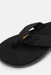 Teva - VOYA - T-bar sandals - mahani black - 5
