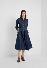 Polo Ralph Lauren - PARRIS WASH - Denim dress - dark indigo - 1