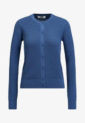 MET STRUCTUUR - Cardigan - blue
