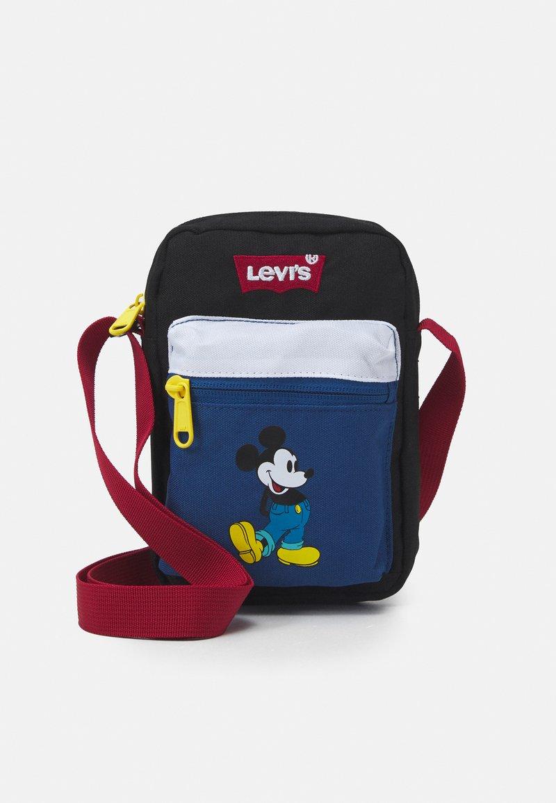 Levi's® - DISNEY MICKEY MOUSE FESTIVAL BAG UNISEX - Umhängetasche - blue/black