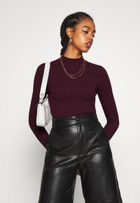 Even&Odd - Maglione - wine red - 3
