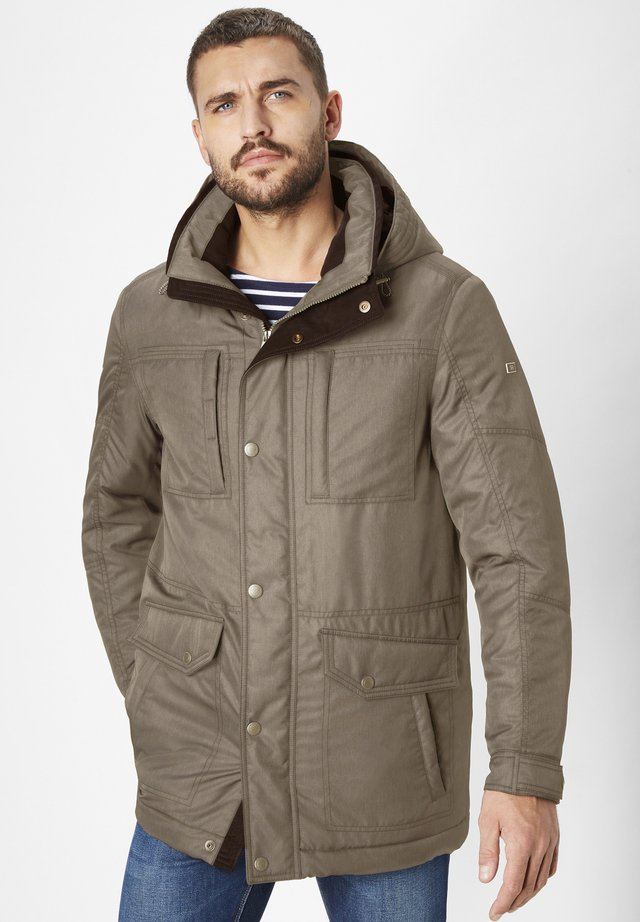 WASSERABEISEND ABERDEEN - Winter jacket - brown melange